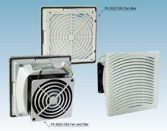 Вентилятор FK5525.230 и Фильтр FK5525.300, (IP54)