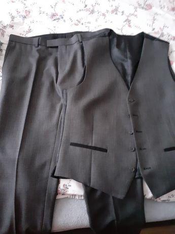 Spodnie i kamizelka męska