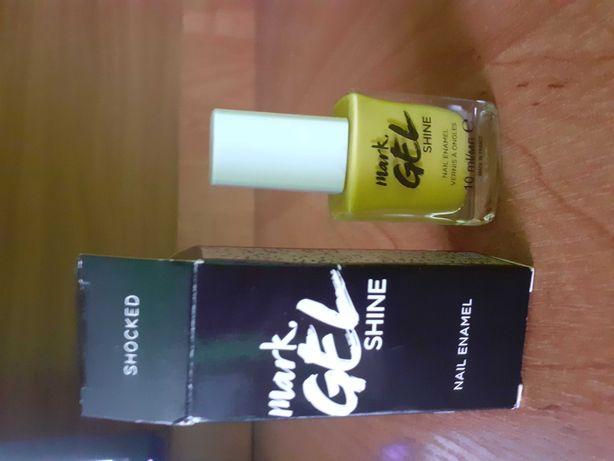 Żółty żelowy lakier do paznokci Avon
