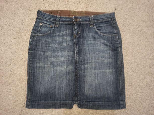 Spódnica jeansowa do kolan, rozm L/XL