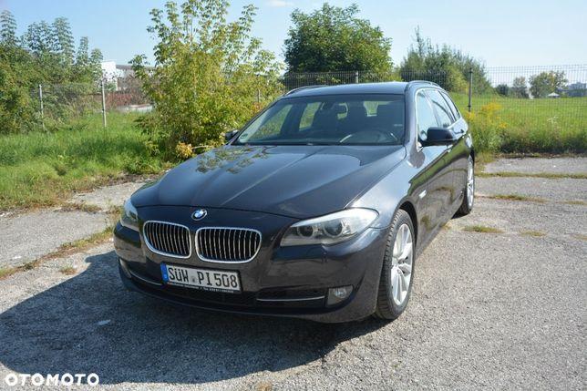 BMW Seria 5 2.0 diesel 184 KM, książka, serwis, 1 właściciel, navi, manual, Niemcy