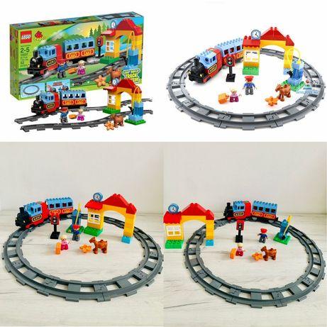 Lego duplo Мой первый поезд 10507 Оригинал Железная дорога Лего дупло
