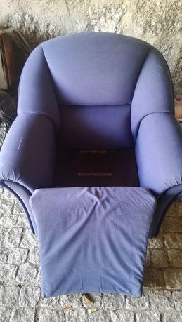 Sofá Individual azul