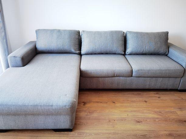 Narożnik kanapa z funkcją spania