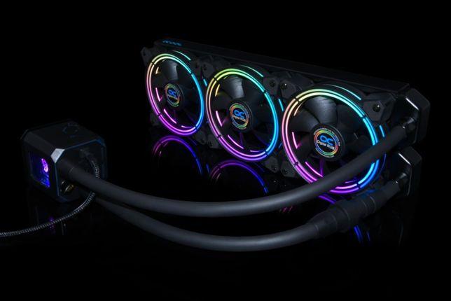Водяное охлаждение Alphacool Eisbaer Aurora CPU - Digital RGB