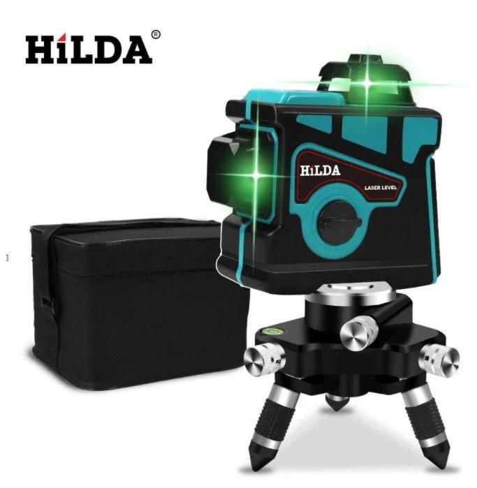 Hilda ls055 нивелир 12 линий 3D уровень самонивелирующийся 360 Оржица - изображение 1
