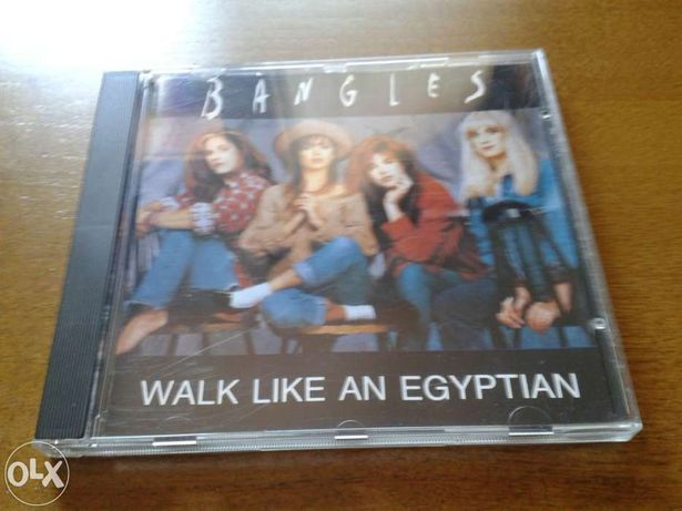 Bangles walk like an egyptian