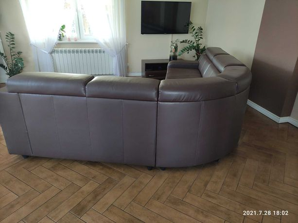 Narożnik sofa kanapa ekoskóra