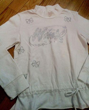 Camisola das Winks com cinto e brilhantes 6-7 anos