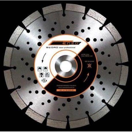 Wysokiej jakości - Tarcza do betonu ENZO SWORD 230mm
