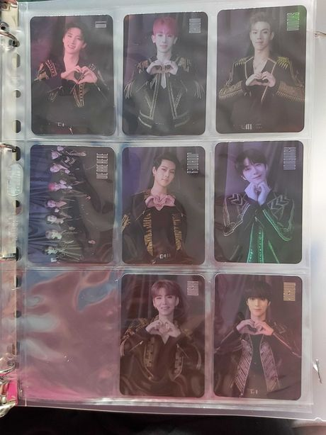 Sprzedam/zamienię Monsta X photocards world tour 2019 na Red velvet