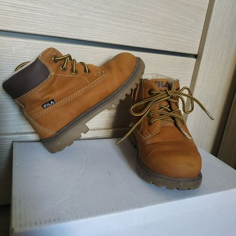 Черевики демісизонні 23p FILA Ботинки демисезонные