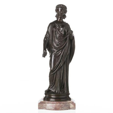 Escultura Deusa Grega Bronze