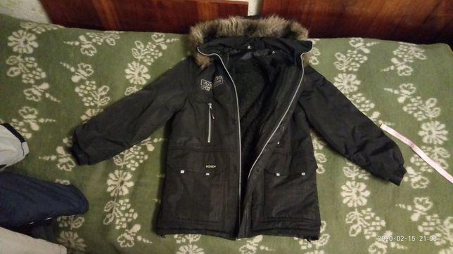 Куртка зимова підліткова, зимняя подростковая