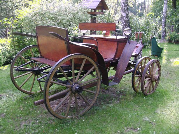 wóz konny, Karoca, Bryczka, zabytek XIX - XX w.