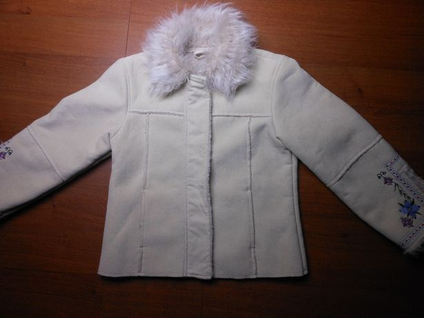 Куртка-дубленка демисизонная LadyBird