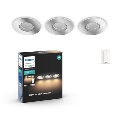 Philips Hue Bathroom Recessed downligt Adore