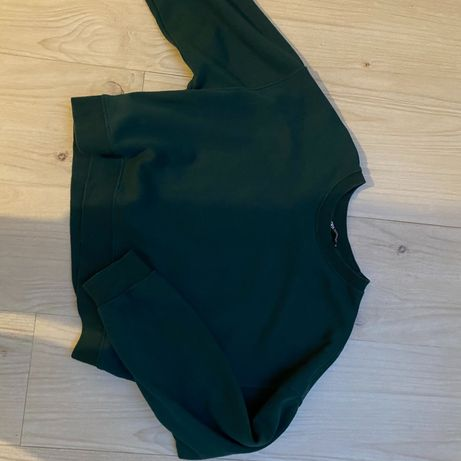 Bluza oliwkowa krótka