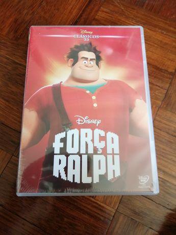 DVD novo Força Ralph