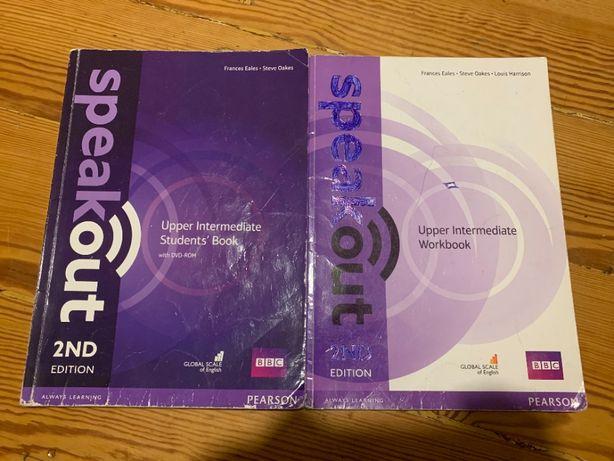 Książka, podręcznik, ćwiczenia, płyta speakout 2nd upper intermediate