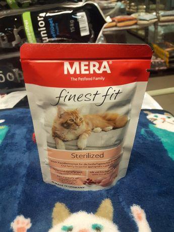 MERA finest fit mokra karma dla kotów Sterilized 85g, import z Niemiec