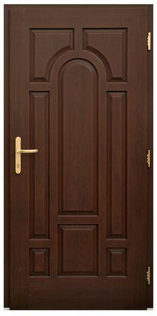 Zewnętrzne drzwi Tłoczone do Bloku, antywłamaniowe
