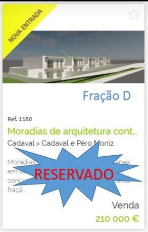 Moradias T3 Arquitectura contemporâria.