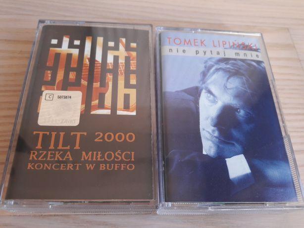 Tilt + Tomek Lipiński - kasety magnetofonowe