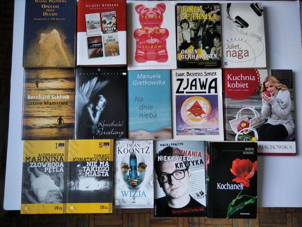 Książka powieść książki tanie nowości klasyki różne tytuły wybór G40