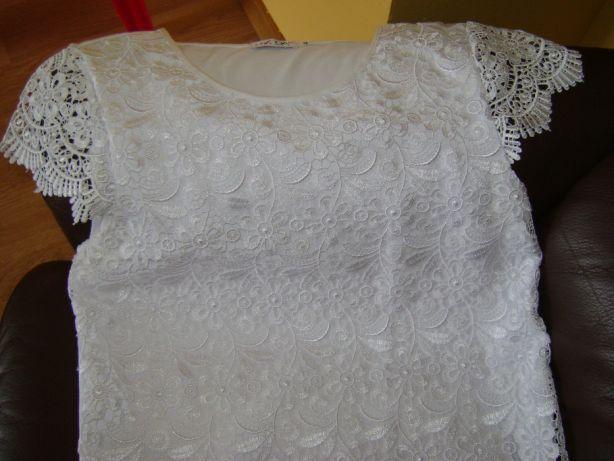 Elegancka bluzka koronkowa