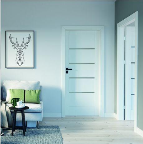 Drzwi 7 dni , Białe drzwi Porta Verte Home , do pokoju 80 90