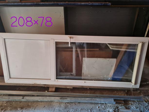 Двері балконні пластикові