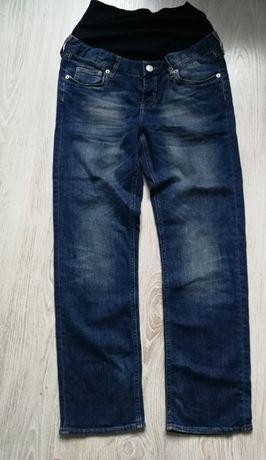H&M mama spodnie ciążowe 36/S JEANS ELASTYK