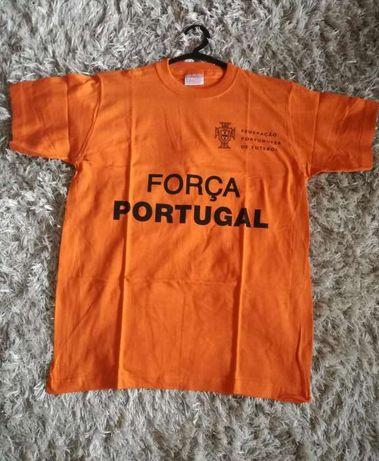 T-shirt (Força Portugal FPF) 14-16anos G rapaz