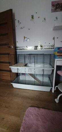 Klatka dla królika 100 cm z wyposażeniem