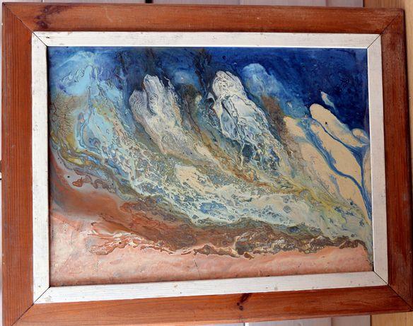 Oryginalny obraz olejny na płótnie 40 x 60