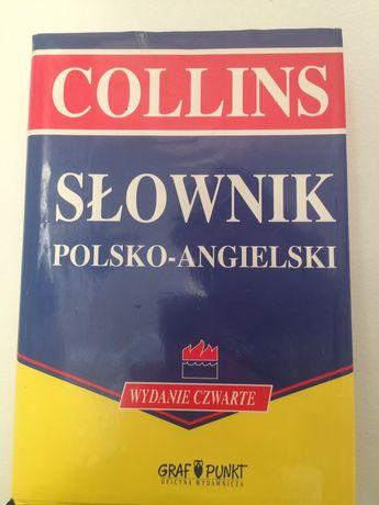 Collins słownik Angielko polski polsko angielski wydanie czwarte nauka