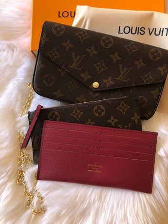 Pochette Felicie Louis Vuitton nova