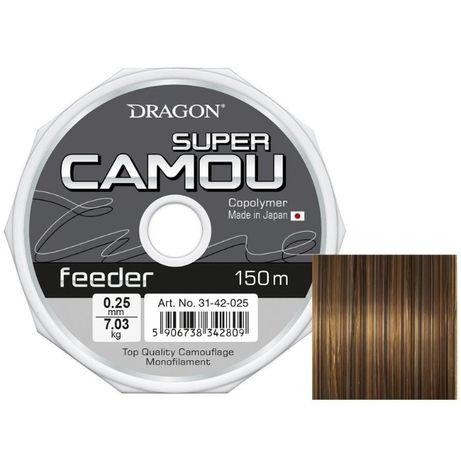 Żyłka Dragon Super Camou Feeder 150m 0.22mm