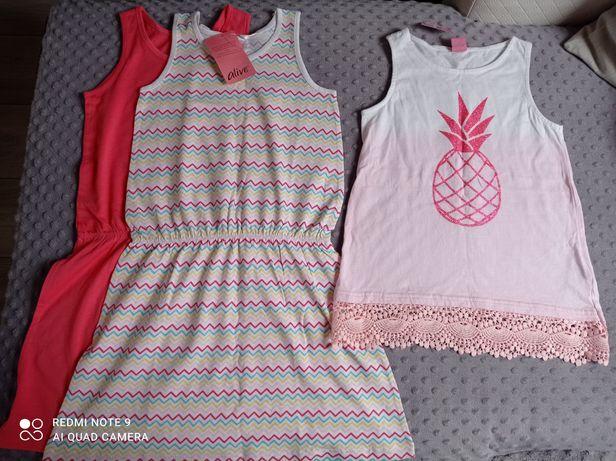 Nowe sukienki + bluzeczka