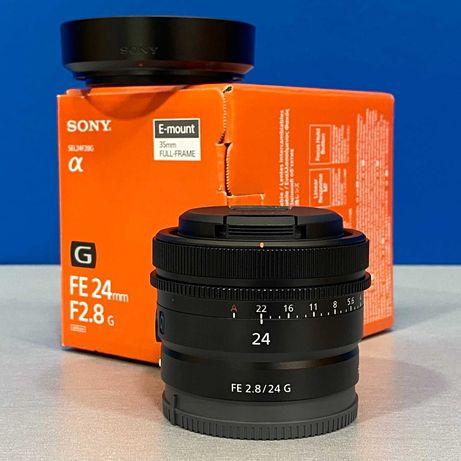 Sony FE 24mm f/2.8 G (NOVA - 2 ANOS DE GARANTIA)