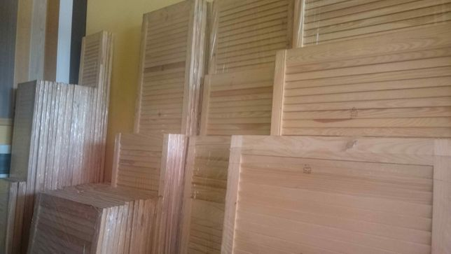 Drzwiczki ażurowe sosnowe, fronty kuchenne, shutters