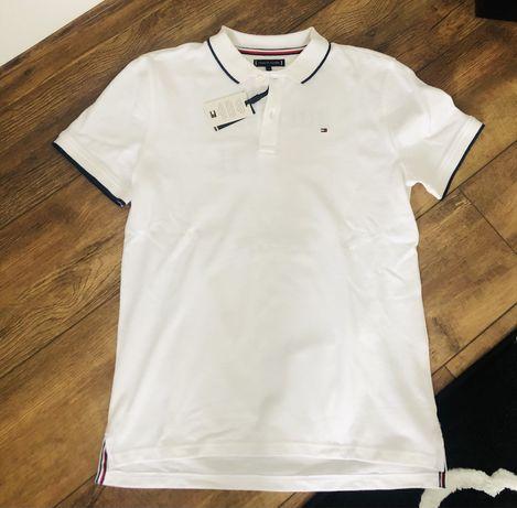 Tommy Hilfiger t-shirt polo 176 nowa z metką!