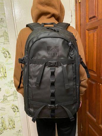 ТОП! Рюкзак REEF ОРИГИНАЛ вмесительный 38 лчерный новый портфель
