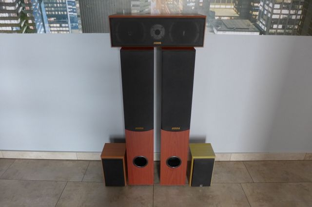 Kolumny stereo do kina domowego KODA AV- 51 v.2