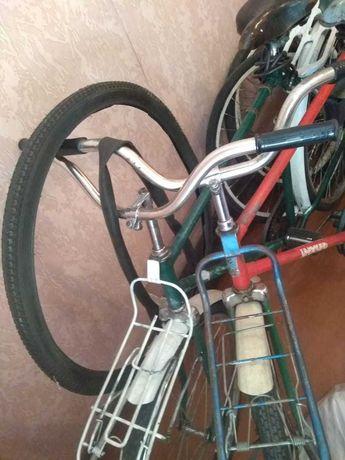 Велосипед Украина (Десна) на ходу. Сделано в СССР.