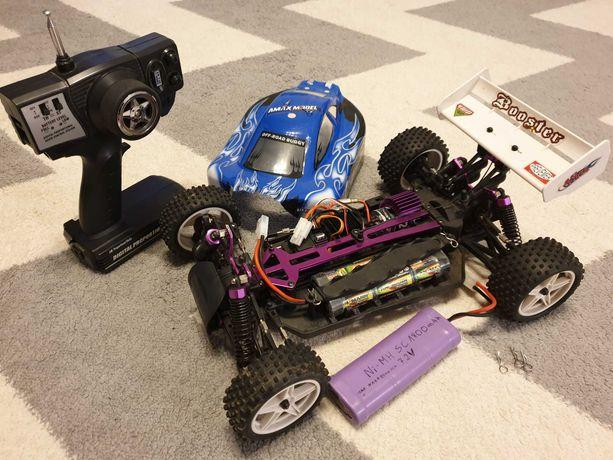 Buggy, RC 1:10, 4x4, samochód, offroad, 2x bateria