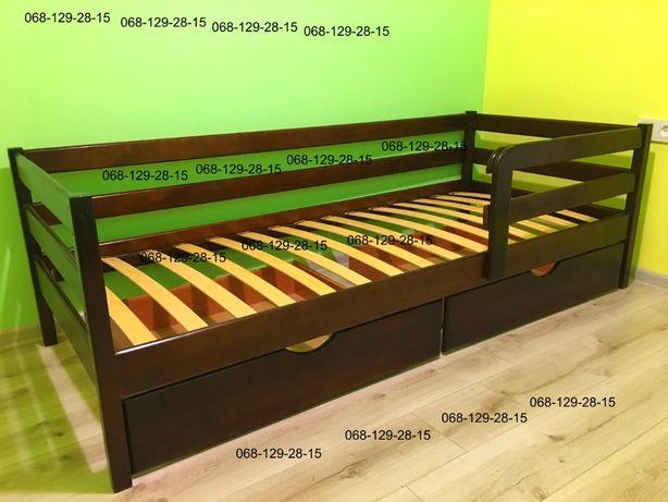 Нота односпальная кровать из дерева