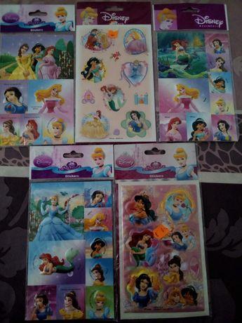 Stickers Princesas Disney