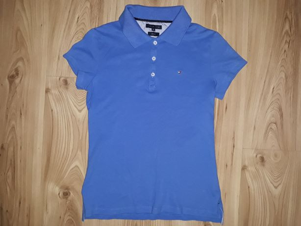 Koszulka damska Polo M Tommy Hilfiger slim USA
